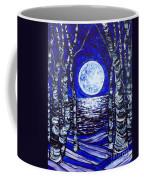 Birches With Shining Water Coffee Mug