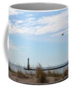 Bird And Lighthouse Coffee Mug