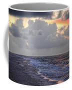 Bird Bath Sunrise Coffee Mug