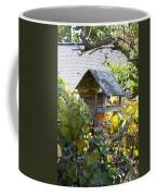 Bird Feeder Amongest The Grapevines Coffee Mug
