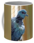 Bird In Blue Dress Coffee Mug