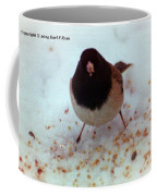 Bird In Snow Coffee Mug