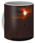 Bird In Sunset Coffee Mug