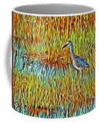 Bird In The Reeds Coffee Mug