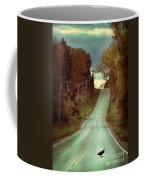 Bird In The Road Coffee Mug