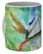 Bird Of Paradise Watercolor Coffee Mug