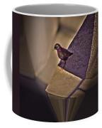 Bird On A Ledge Coffee Mug