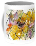 Bird On Chain Coffee Mug