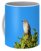 Bird On Tree Top Coffee Mug
