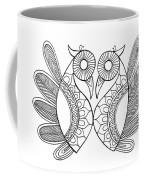 Bird Parrots Coffee Mug by MGL Meiklejohn Graphics Licensing