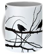 Evening Silhouettes Coffee Mug