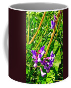 Bird Vetch On Bow River Trail In Banff National Park-alberta  Coffee Mug