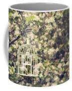 Birdcage In Blossom Coffee Mug