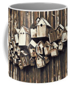 Birdhouse Condominium Coffee Mug