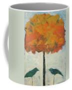 Birds And Maple Coffee Mug