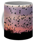 Birds At Sunrise Coffee Mug
