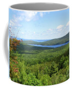 Bird's Eye View Of Eagle Lake Coffee Mug