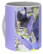 Birds - Fighting - Herons Coffee Mug