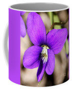 Birds Foot Violet Coffee Mug