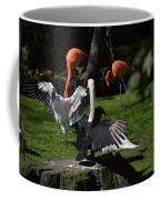 Birds Gather Coffee Mug