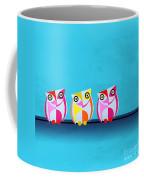 Birds In Blue  Coffee Mug