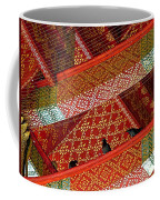 Birds In Rafters Of Royal Temple At Grand Palace Of Thailand  Coffee Mug