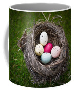 Bird's Nest With Easter Eggs Coffee Mug