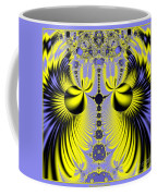 Birds Of Paradise Fractal 160 Coffee Mug