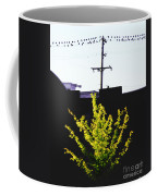 Birds On A Wire In Cooper Young Coffee Mug