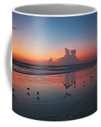 Birds On Beach Coffee Mug