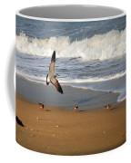 Birds On The Beach Coffee Mug