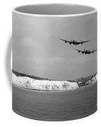 Birds Over The Cliffs  Coffee Mug
