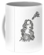 Birdwatcher Wild Ink Coffee Mug
