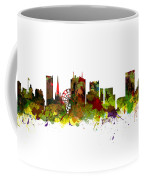Birmingham Uk City Skyline Coffee Mug