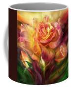 Birth Of A Rose - Sq Coffee Mug