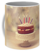 Birthday Cake Coffee Mug by Amanda Elwell