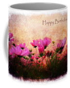 Birthday Flowers Coffee Mug