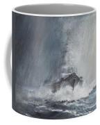 Bismarck Through Curtains Of Rain Coffee Mug