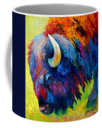 Bison Portrait II Coffee Mug