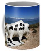 Bison Sculpture Great Salt Lake Utah Coffee Mug