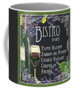 Bistro Paris Coffee Mug by Debbie DeWitt
