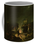 Bivouac Of Napoleon I 1769-1821 On The Battlefield Of The Battle Of Wagram, 5th-6th July 1809, 1810 Coffee Mug