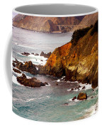Bixby Bridge Of Big Sur California Coffee Mug by Barbara Snyder