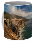 Bixby Coastal Drive Coffee Mug by Mike Reid