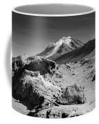 Bizarre Landscape Bolivia Black And White Coffee Mug