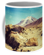 Bizarre Landscape Bolivia Old Postcard Coffee Mug
