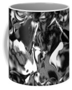 Black And Indeed White Coffee Mug