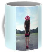 Black And Red Coffee Mug by Joana Kruse