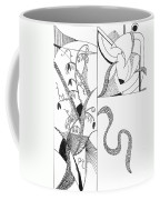 Black And White Abstract #2 Coffee Mug