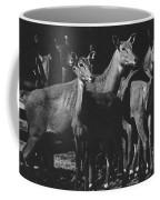 Black And White Antelopes Coffee Mug